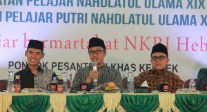 Menpora Ajak Kader IPNU-IPPNU Berdoa untuk Korban Tsunami